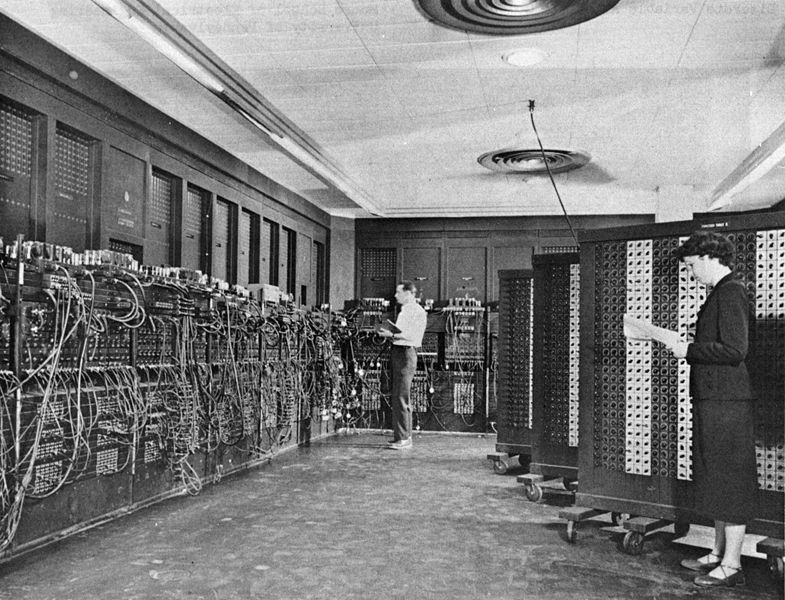 Eniac, the first programmable numerical device, United States Army, 1943