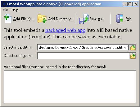 Embed WebApp