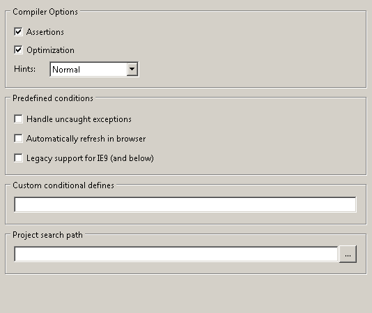 Compiler Options 1